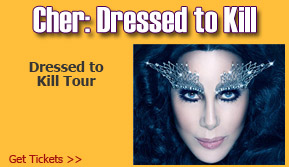 Cher - Dressed to Kill Tour